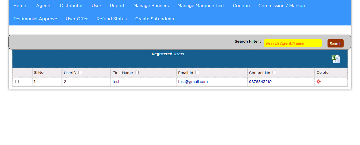 registered user