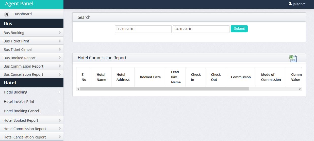yatra clone admin panel-dod it solutions