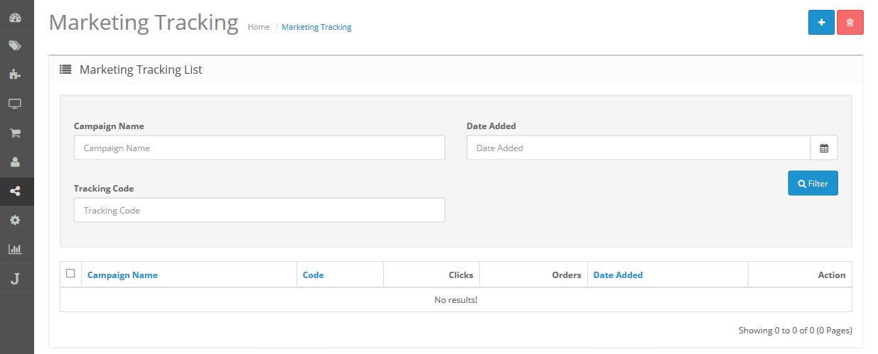marketing tracking
