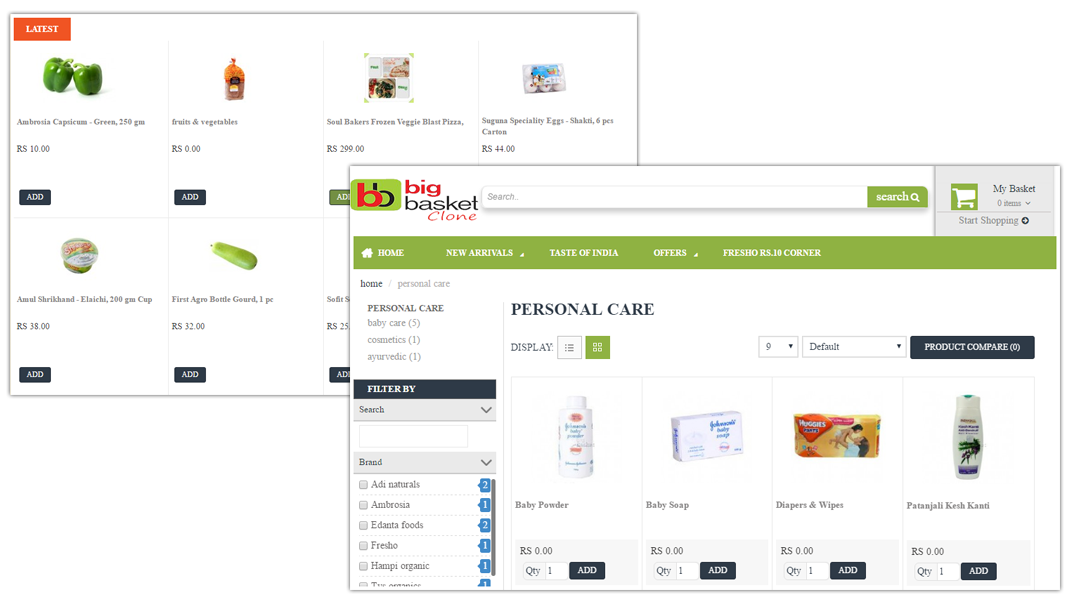 doditsolutions-bigbasket-clone-latest-personal-care-products