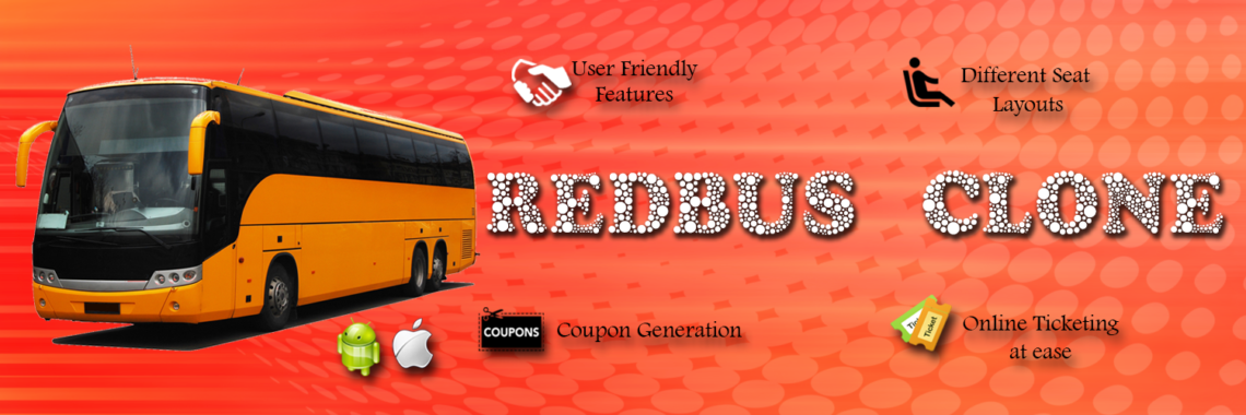 Red Bus Clone Banner