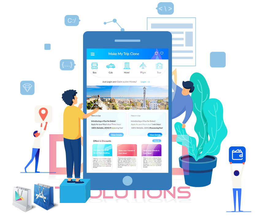 Ola Clone Script Mobile Application