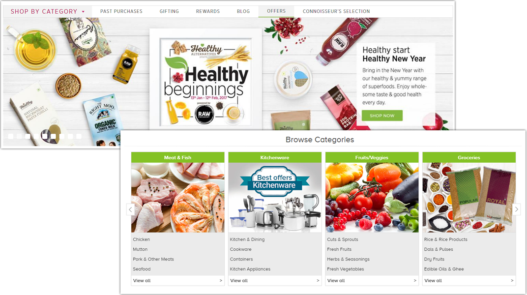 doditsolutions-multi-vendor-grocery-script-homepage