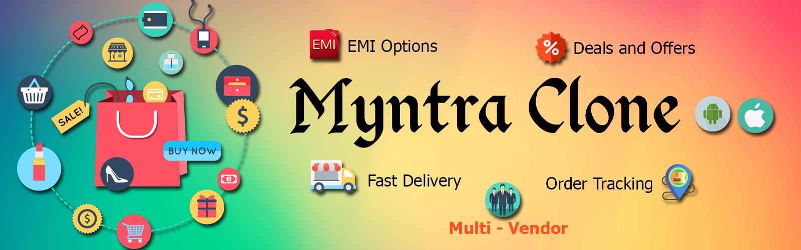 Myntra Clone banner