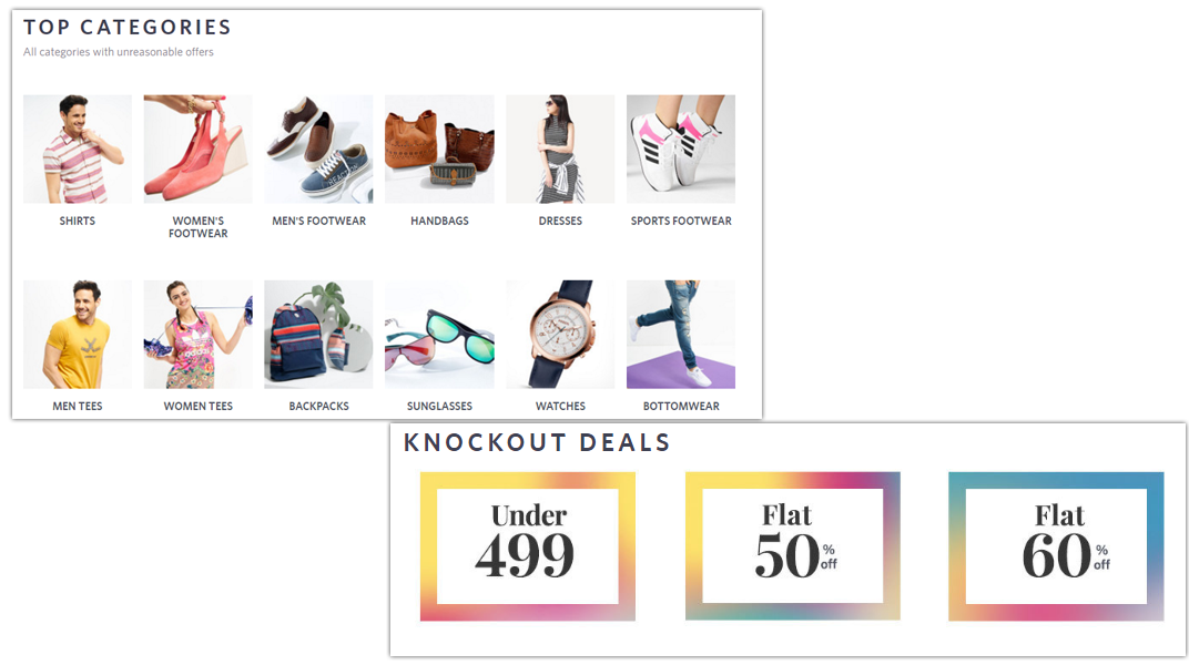 doditsolutions-myntra-clone-uer-categories-deals