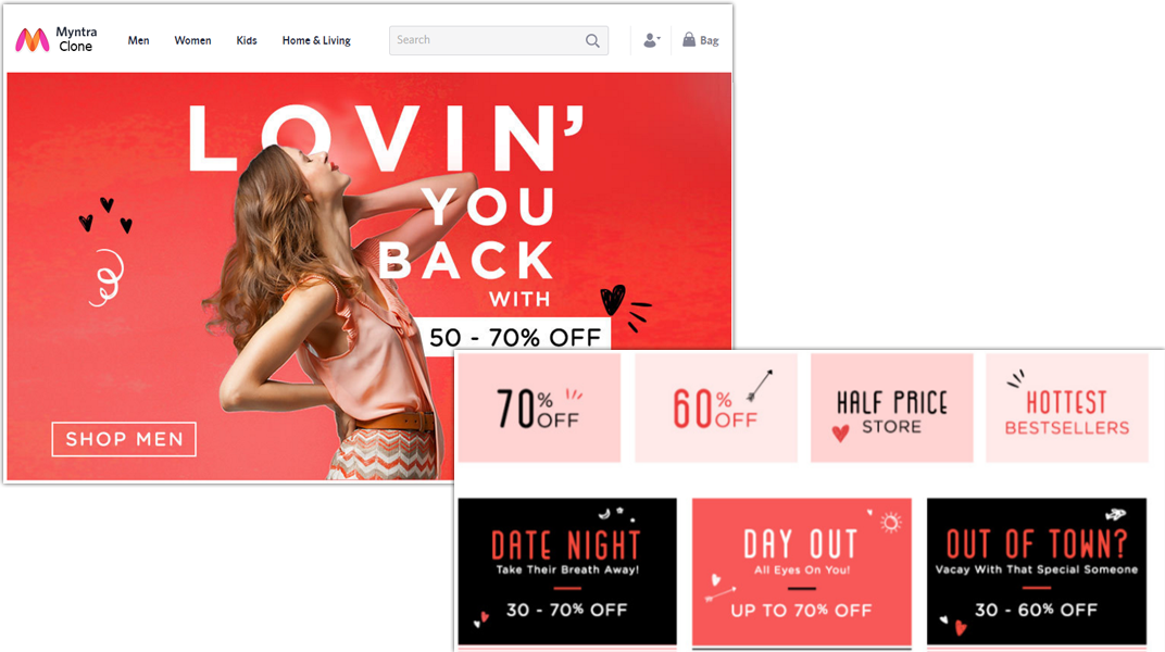 doditsolutions-myntra-clone-user-homepage