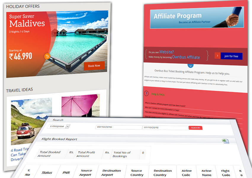 Yatra Clone Offers Booking Layout