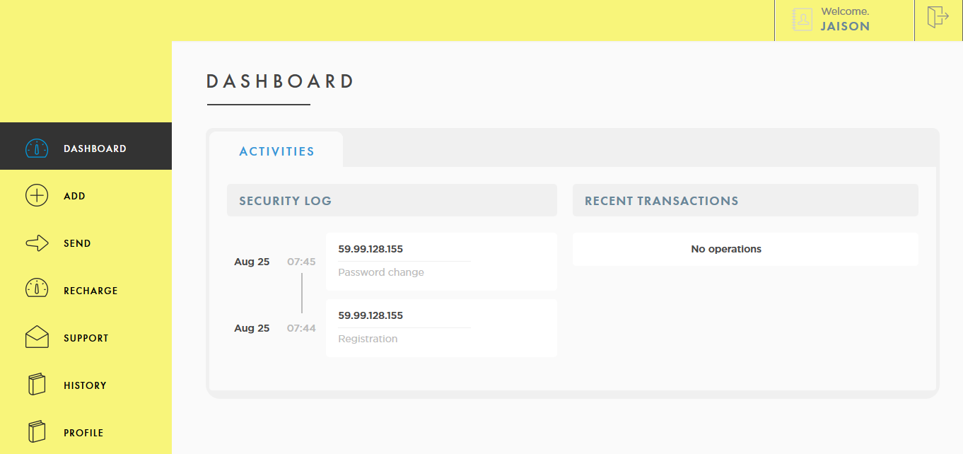 moneytransfer-user-dashboard
