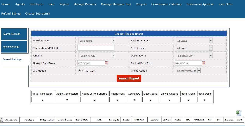 travelyari-customercare-generalreports